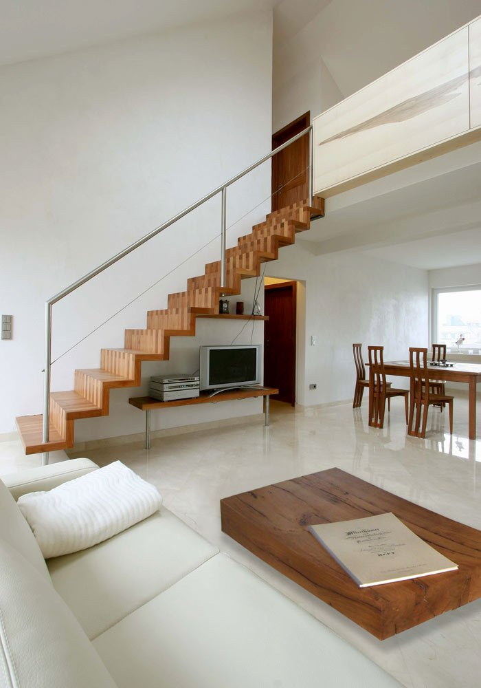 Escalier et Table